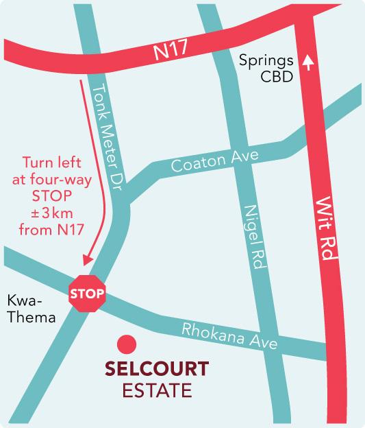 SELCOURT MAP